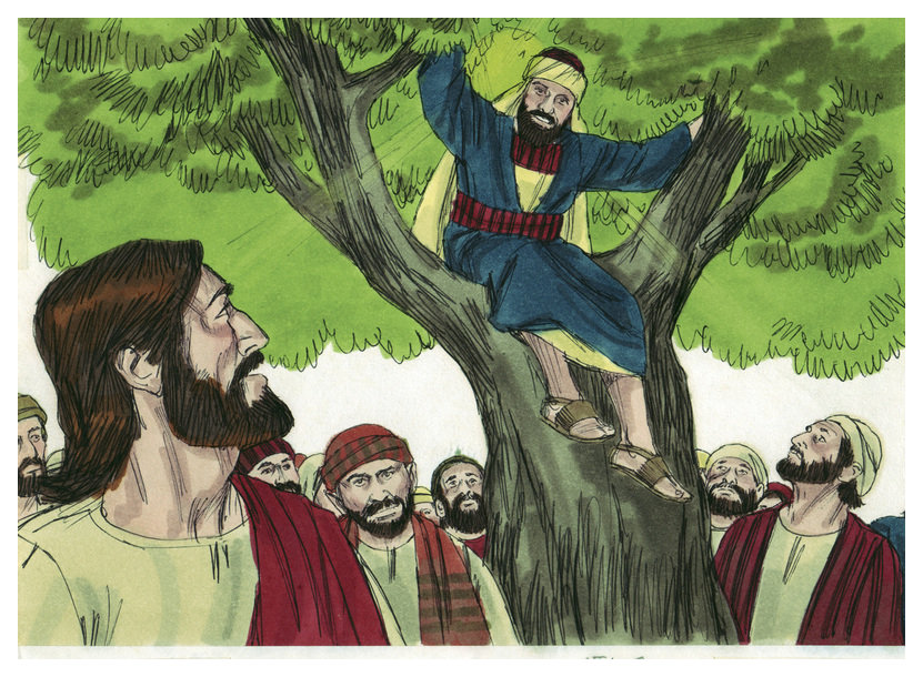 Daily Bible Reading: Luke 19:1-27