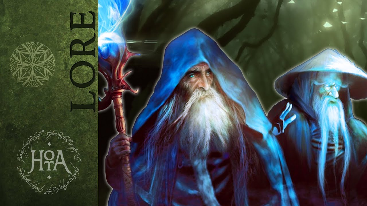 YouTube: Why Didn't Tolkien Use The BLUE WIZARDS? | History of Middle Earth | Lore